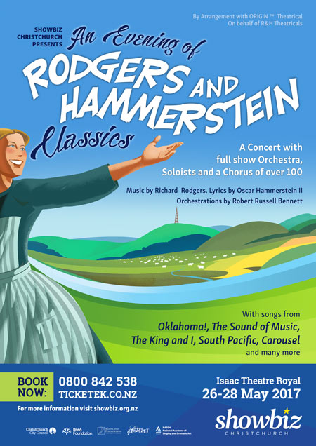 An Evening of Rodgers & Hammerstein Classics - 26-28 May 2017