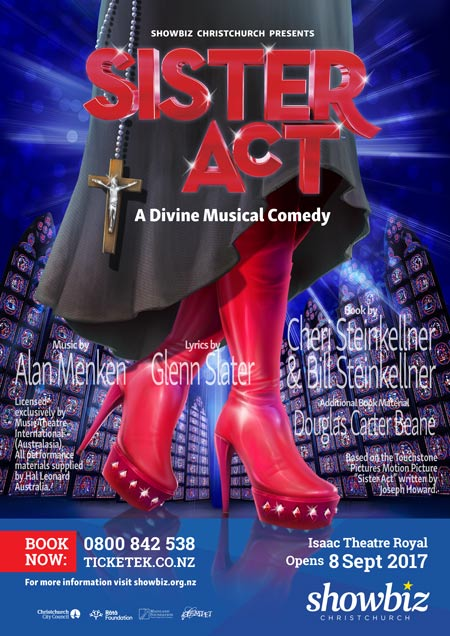 Sister Act - Opens 8 Sept 2017