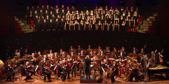 First Showbiz concert in 79 years at a major theatre
