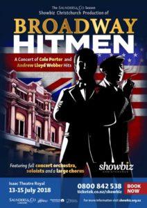 Showbiz Christchurch 2018 Season - Broadway Hitmen