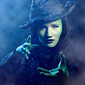 Jane Leonard as Elphaba