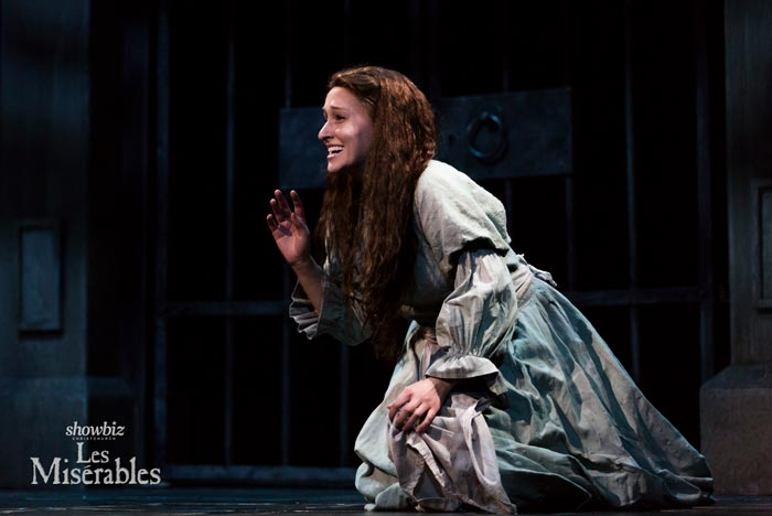 Fantine played by Kira Josephson