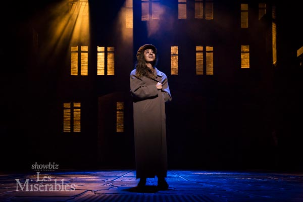 Monique Clementson as Eponine. Photo by Danielle Colvin