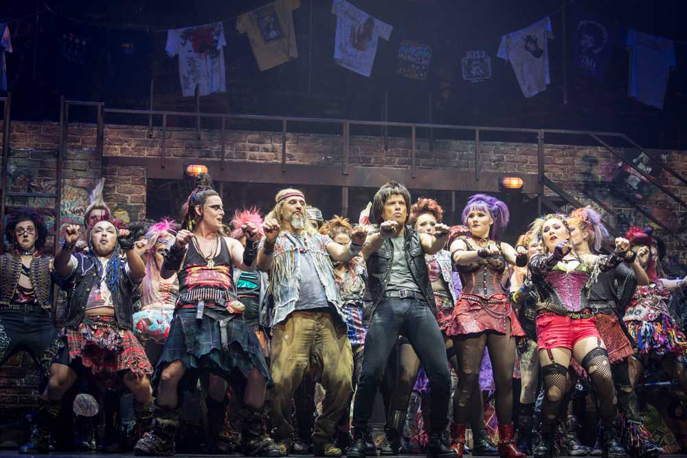 "4925e49a Showbiz Christchurch thought deeply about whether or not to gather for the  opening of their season of We Will Rock You. Their unanimous decision that  ""the ..."