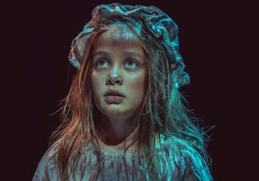Arawyn Allan-Griffins as Little Cosette
