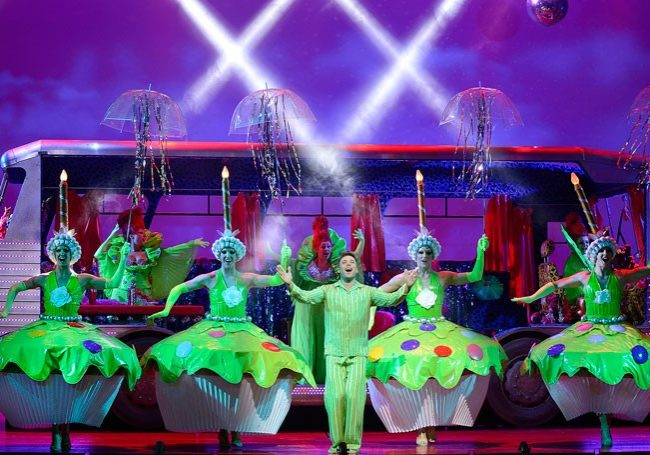 The cupcakes in Priscilla, Queen of the Desert – The Musical from the UK Touring Production. Photo credit: Paul Coltas.